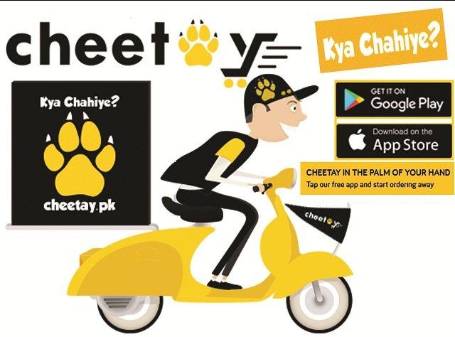 Cheetay.pk Partners With Daraz.pk!