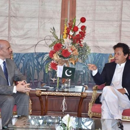 PEPSICO AMENA CEO MIKE SPANOS MEETS PRIME MINISTER IMRAN KHAN