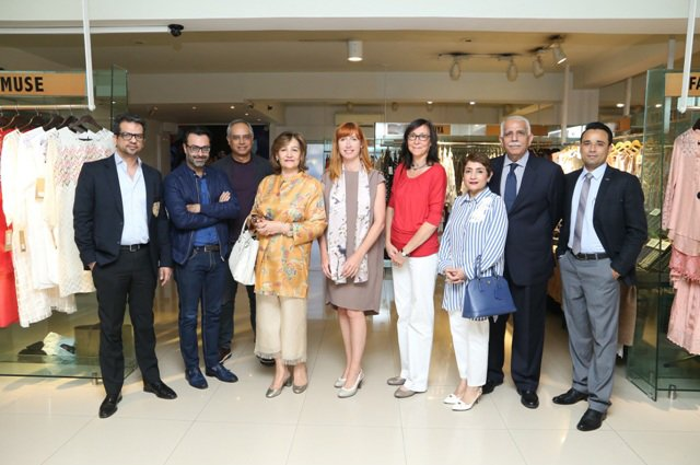 Belgian Trade Delegation meets Pakistan Fashion Design Council (PFDC) to strengthen trade between Pakistan and Belgium