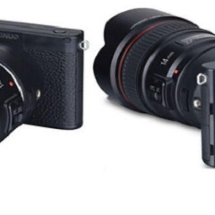 The Yongnuo YN450, a mirror-less camera which can work with Cannon lenses!