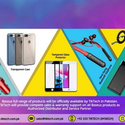 Baseus, World's leading accessory brand to be officially available in Pakistan