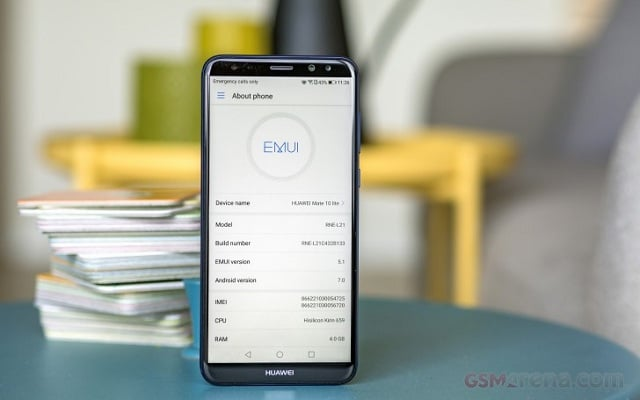 Revised price of the Mate 10 Lite; Dollars or else