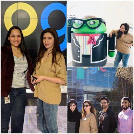 Mahira Khan visits Facebook and Google headquarters