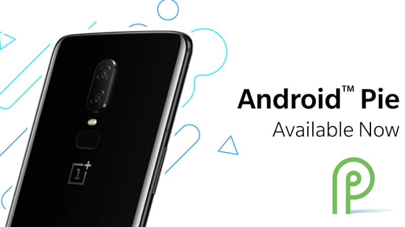 OnePlus' Android Pie update