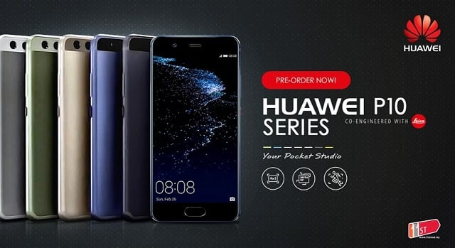 P10 series from the Huawei P10 series starts the receiving of EMUI 9