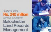 Systems Limited in Collaboration with UltraSoft System Wins Rs.248 Million Contract to Automate Balochistan's Land Records Management