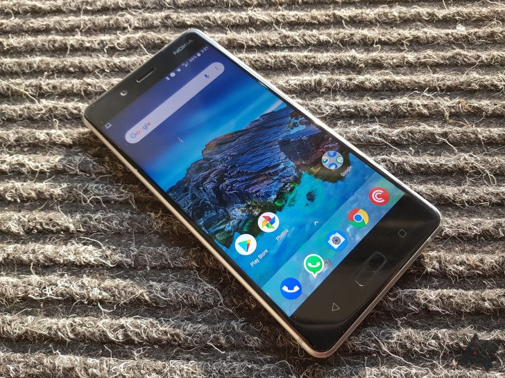 Android Pie has been released for the Nokia 8