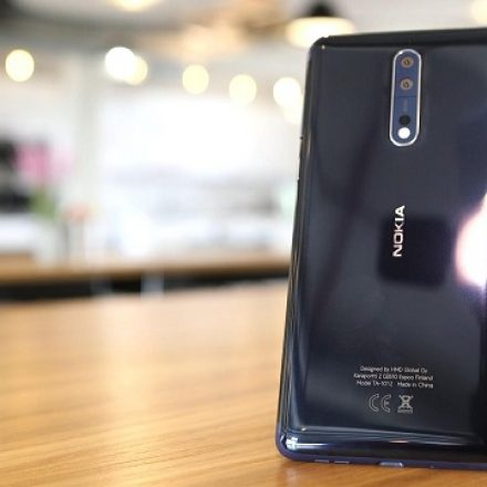 Pie released for the Nokia 8