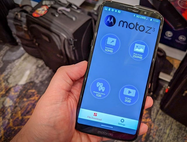 Motorola carried out its Moto Mod 5G Test and well misled a lot of viewers