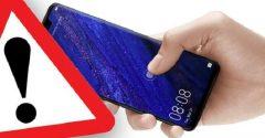 Huawei phones having a problem
