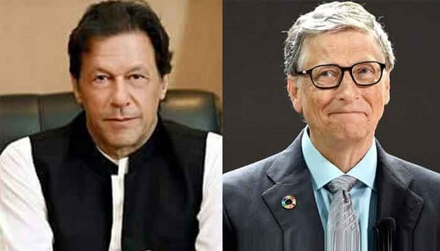 Bill Gates sends Imran Khan a letter over his interest in investing in Pakistan