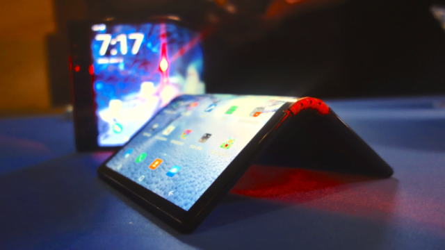 Google first foldable phone?