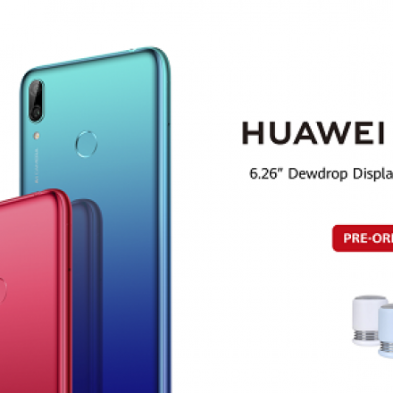 The Reimagined Bestseller HUAWEI Y7 Prime 2019 Available for Pre-order