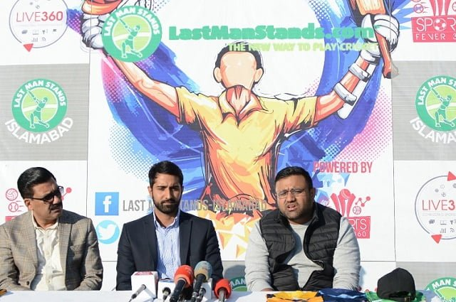 Last Man Stands with collaboration of Sportfever360 launched First Cricket League in Islamabad