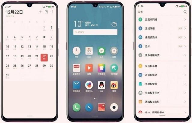 Meizu upcoming flagship phone