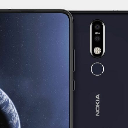A new leak shows a punch hole display in the upcoming Nokia 8.1 Plus