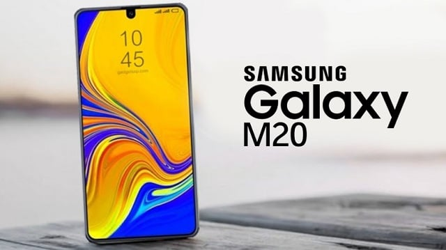Samsung Galaxy M20 to feature with an Infinity V-notch?