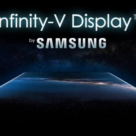 The first Infinity-V display : Galaxy M series