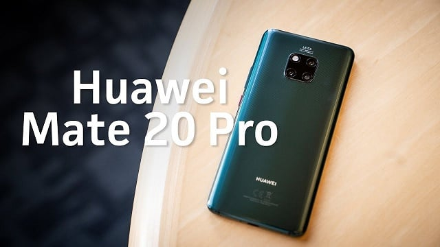 Huawei Mate 20 Pro features and specifications