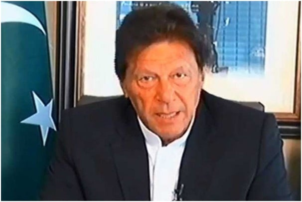 'LET BETTER SENSE PREVAIL' PM KHAN'S MESSAGE TO INDIA