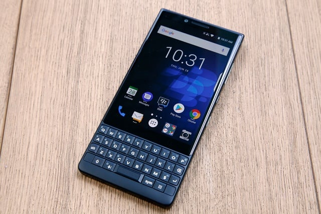 The Blackberry Key 2 in an all new color
