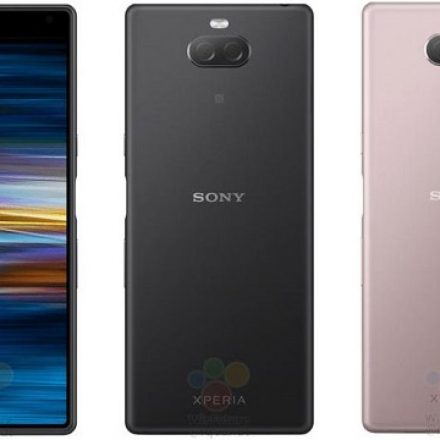 Leaked images for the Xperia XA3