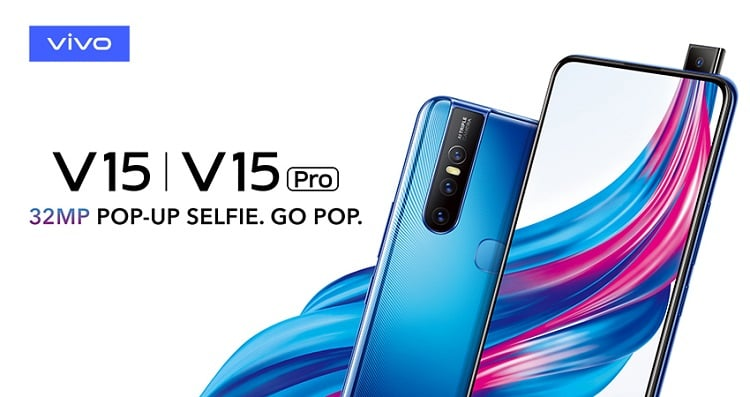 Vivo V15 Series Launched in Pakistan with World's First 32MP Pop-up Selfie Camera
