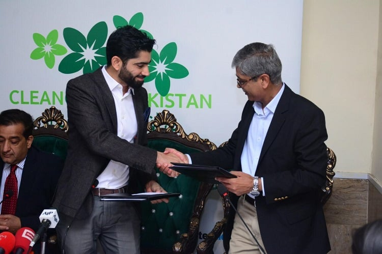 RECKITT BENCKISER COMMITS PKR 1BILLION TO SUPPORT GOVERNMENT'S CLEAN GREEN PAKISTAN MOVEMENT