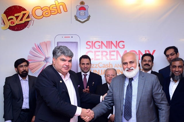 JazzCash Partners with University of Punjab