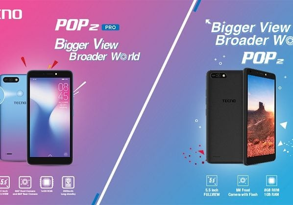 TECNO COMES UP WITH THE NEW ENTRY LEVEL CHARMERS OF THE MARKET; POP 2 AND POP 2 PRO