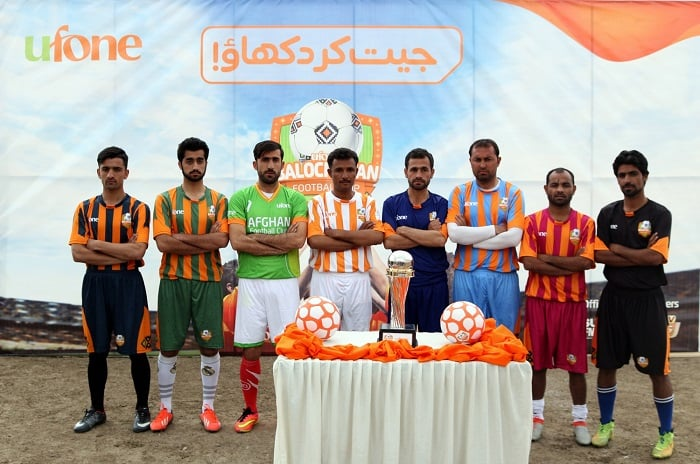 Ufone Balochistan Football Cup- Ufone unveils trophy and Super8 schedule