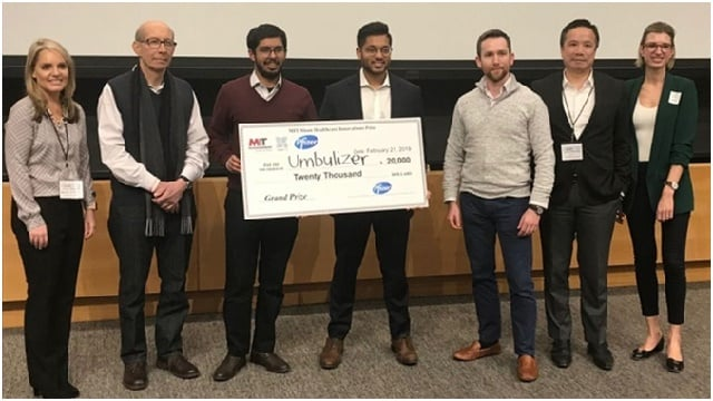 PAKISTANI STUDENTS MAKE THE COUNTRY PROUD: WIN MIT'S HEALTHCARE PRIZE FOR INVENTING LOW-COST VENTILATOR