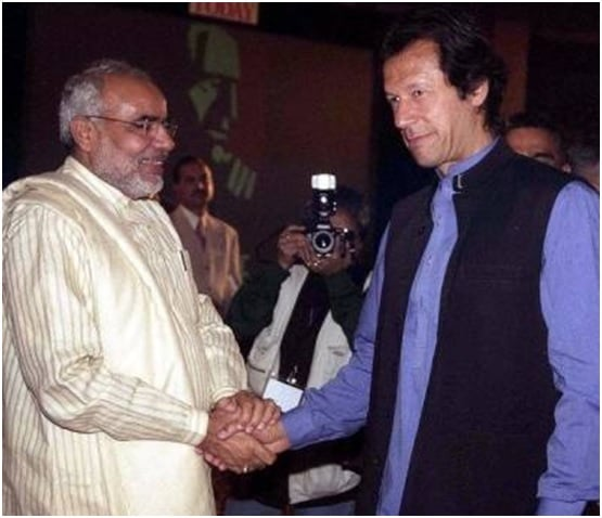 EXCHANGE OF PEACE MESSAGES BETWEEN PAKISTAN AND INDIA
