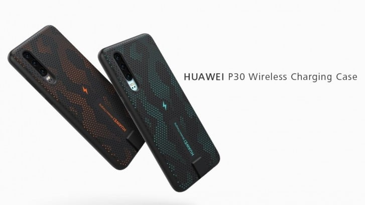 Huawei release a wireless charging case with the P30 device