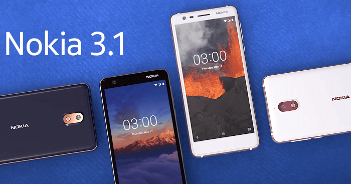 Nokia 3.1 gets the Android Pie Update