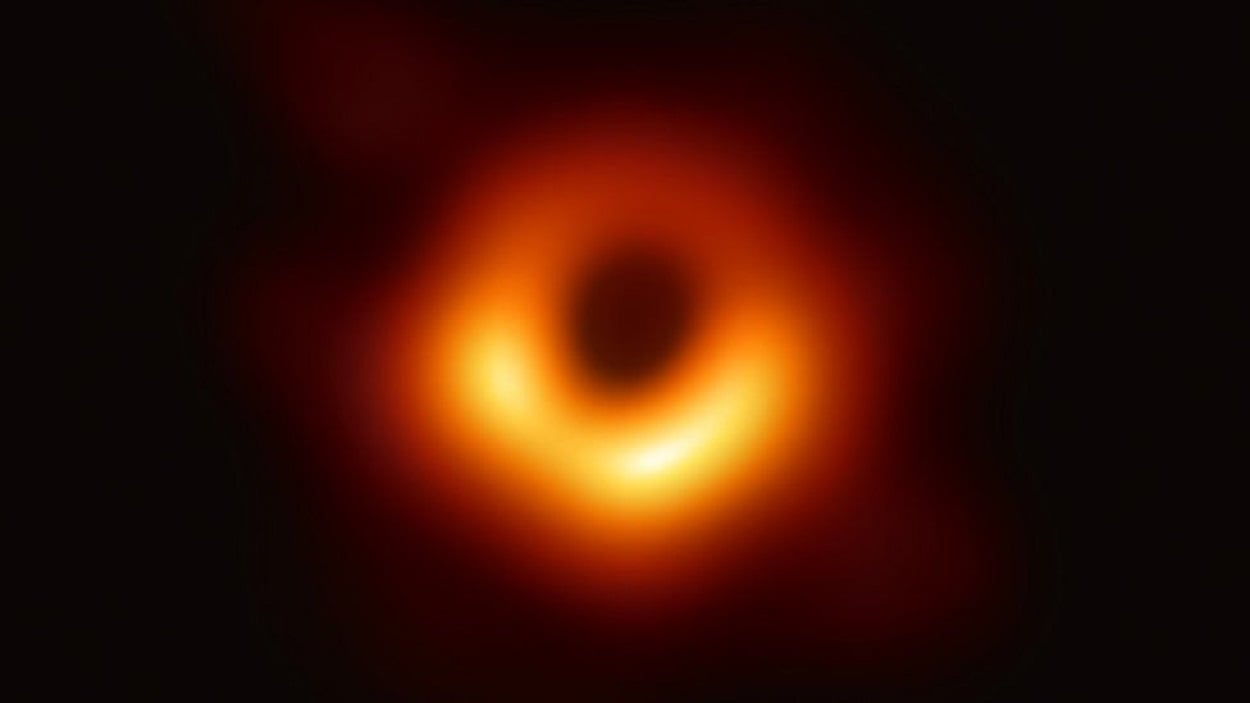 FIRST IMAGE OF BLACK HOLE RELEASED!