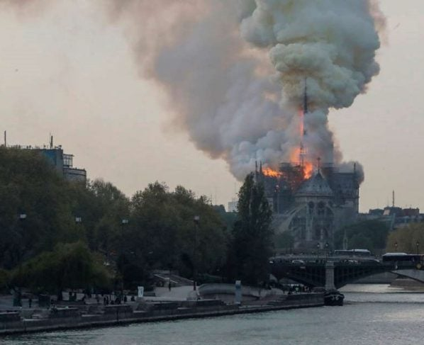 NOTRE-DAME CATHEDRAL FIRE: WRECKS CENTURIES OLD PARISIAN LANDMARK
