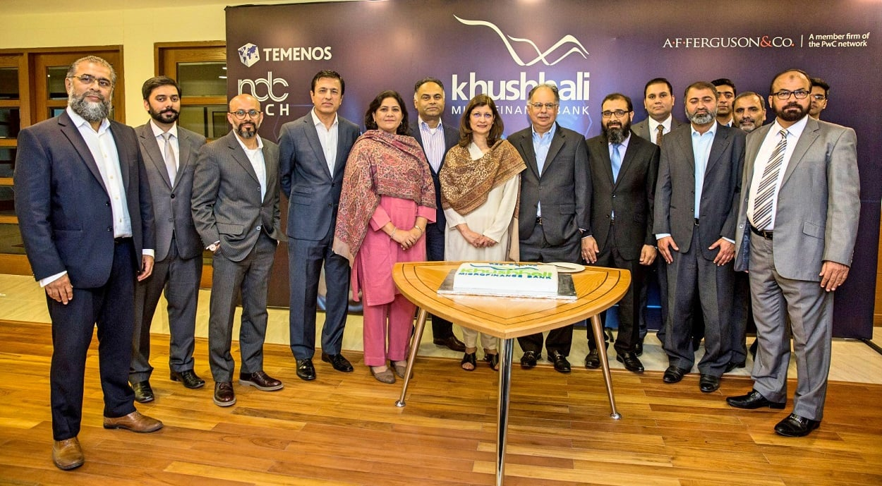 Khushhali Microfinance Bank goes live on Temenos Core Banking, FCM, Business Analyticsand Digital Platform with NDCTech Pakistan