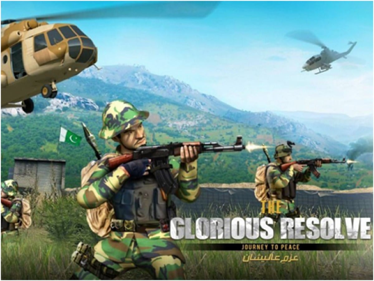 ISPR RELEASES A PUBG OF ITS OWN: PLAY THE GLORIOUS RESOLVE
