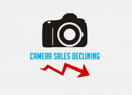 Global Camera sales fell to only 1 million units in 2019