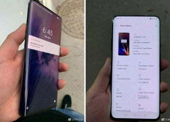 ONEPLUS 7 GETS A RELEASE DATE