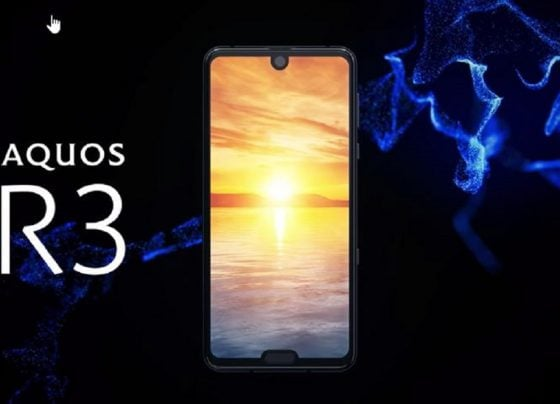 SHARP AQUOS R3: DOUBLE THE NOTCH!