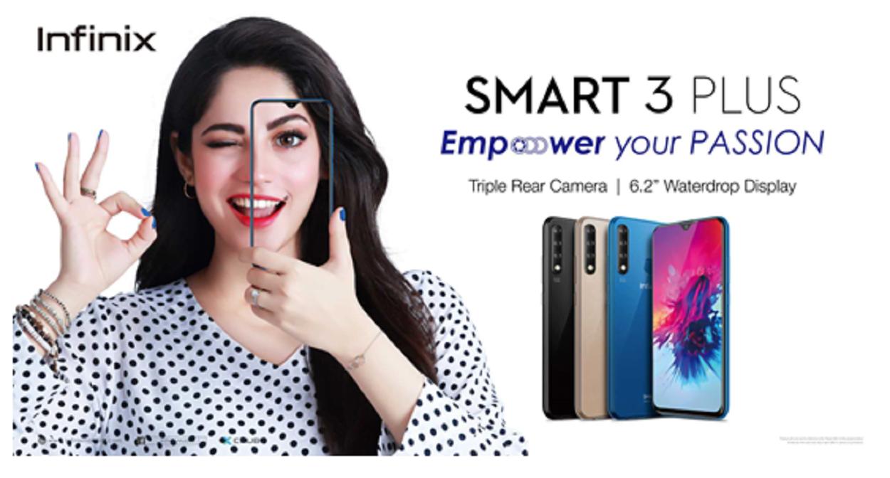Infinix Smart 3 Plus the hottest budget phone!