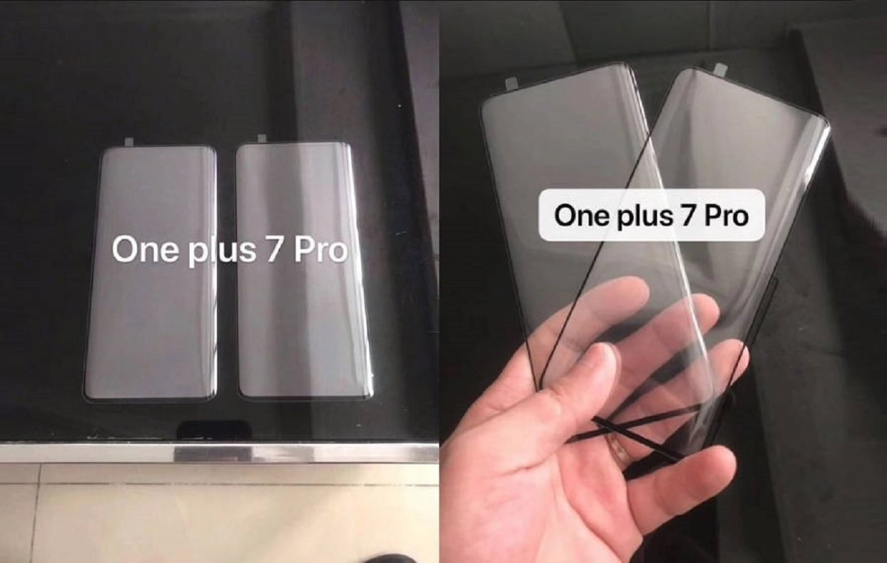 OnePlus 7 screen protector leaked