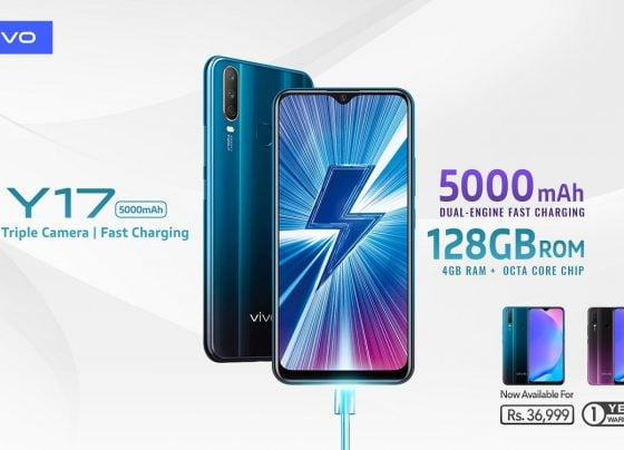 Vivo Y17 Packs a Massive 5000mAh Battery with Dual-Engine Fast Charging