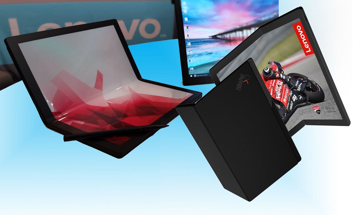 LENOVO INTRODUCES THE FIRST FOLDABLE PC