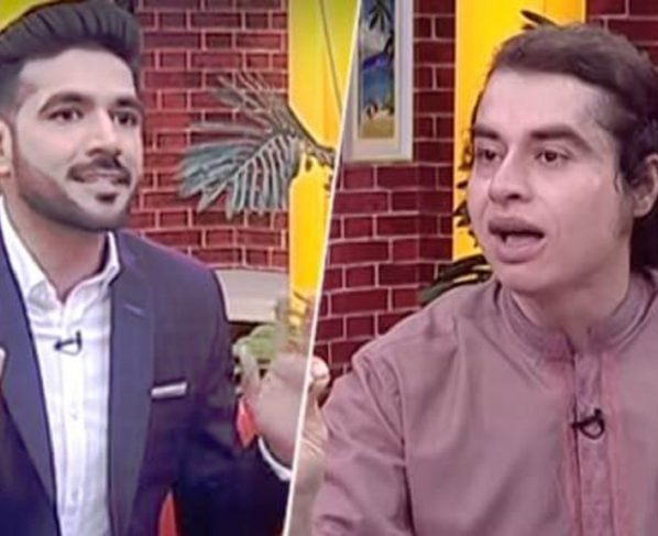 TV SHOW HOST APOLOGIZES TO SETTLE MATTERS WITH NASIR KHAN JAN