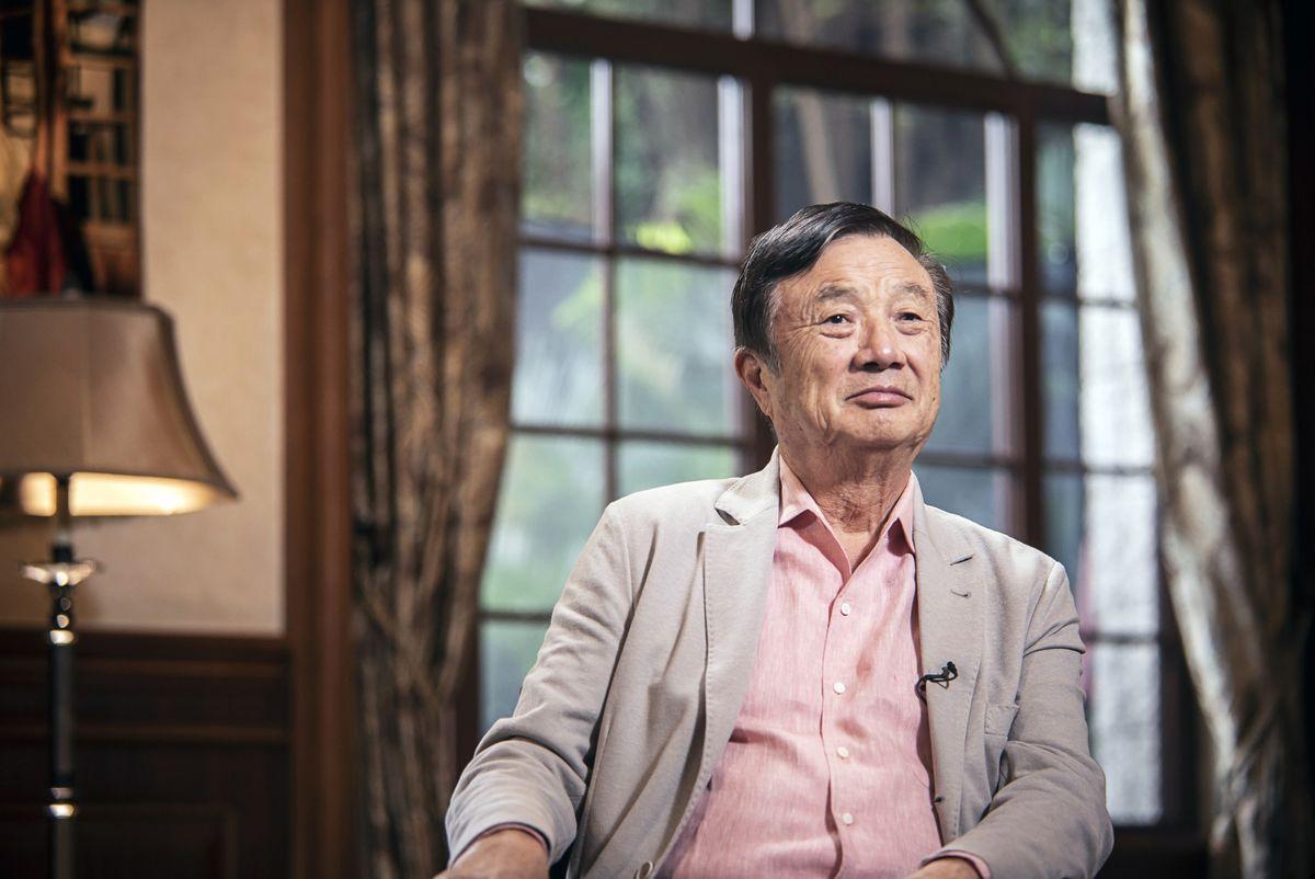 Huawei Founder Ren calls Apple his Teacher