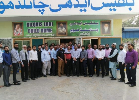BankIslami visits Edhi Children Home for its 'Share to Care' CSR movement