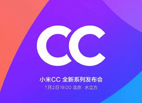 XIAOMI INTRODUCES NEW CC BRAND